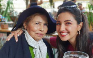 En Barcelona con mi abuela hermosa